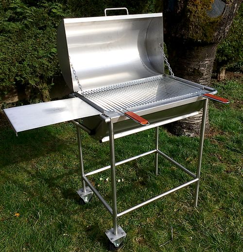 barbecue inox maison