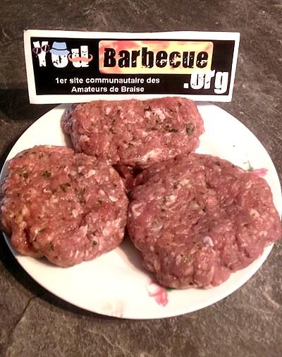Le steak burger glaçon