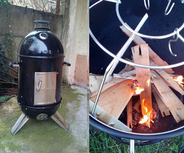 barbecook cuisson basse température
