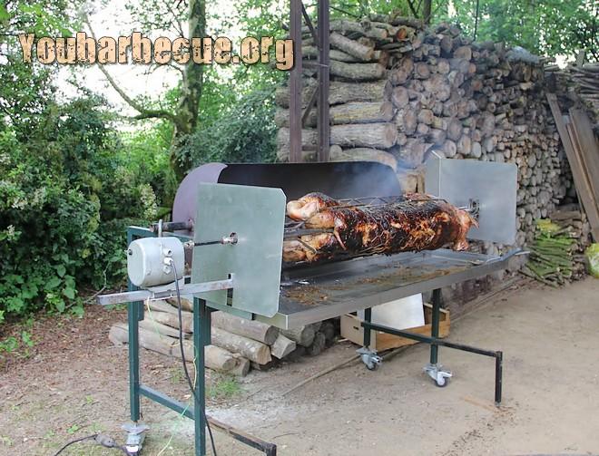 cuisson cochon farce ratatouille