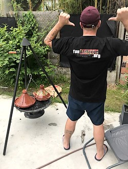 recette tajine barbecue