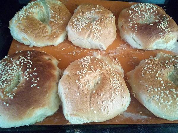 recette pain bagel pour barbecue