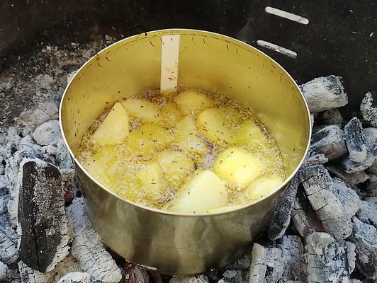 pommes de terre sautées au barbecue