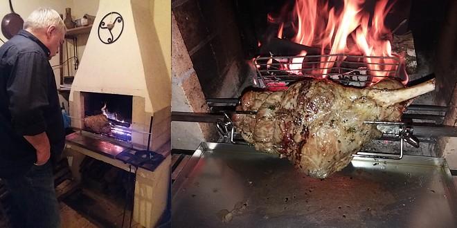 les secrets du gigot d 39 agneau la broche you barbecue. Black Bedroom Furniture Sets. Home Design Ideas