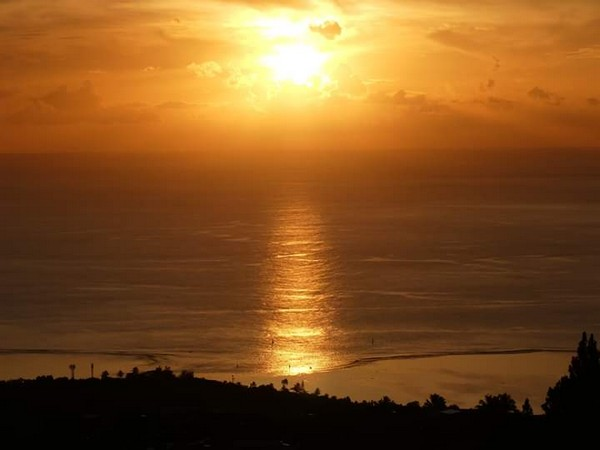 paysage de tahiti
