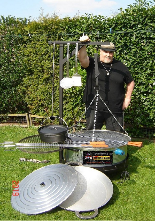 Le Brasero Multifonction De Yves You Barbecue Org