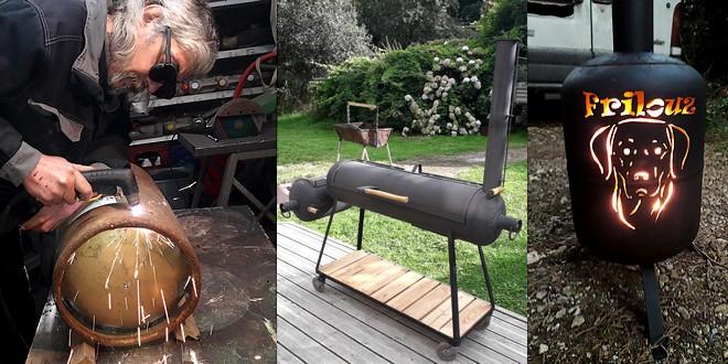 Faire Un Barbecue Offset Smoker Option Plancha You Barbecue Org