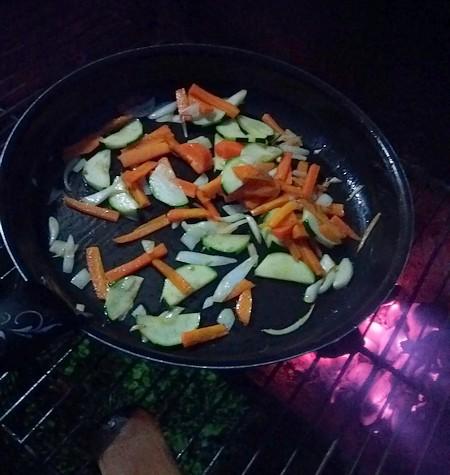 cuisson des légumes pour accompagnement
