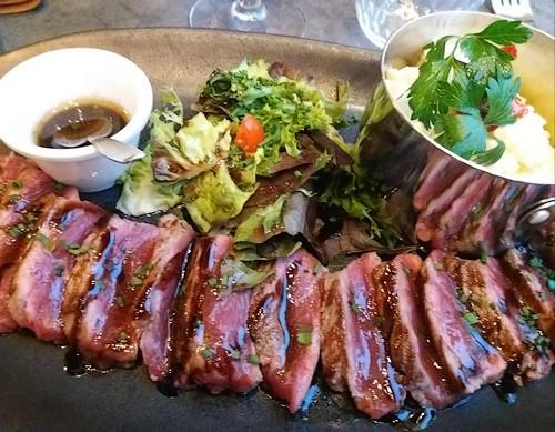 tataki de boeuf version restaurant