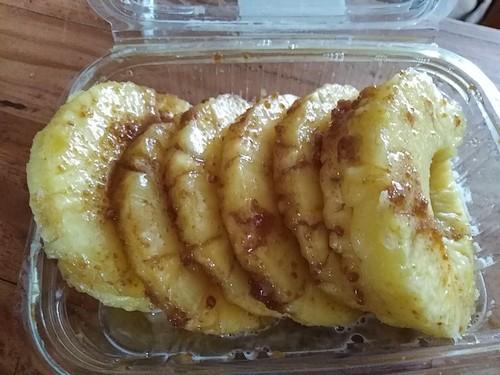 ananas en marinade