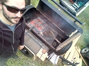 Thierry en mode grillade