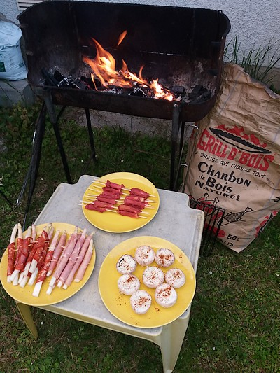 idée tapas au barbecue