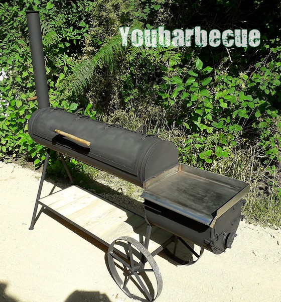 smoker option plancha