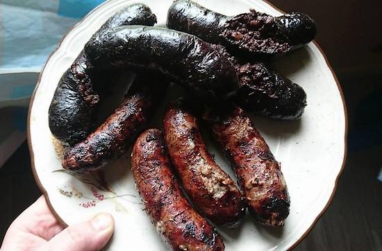 Comment cuire boudin noir au barbecue ?
