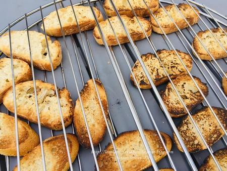 cuisson pain pour bruschetta au barbecue