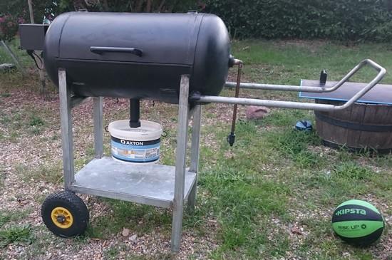barbecue avec compresseur fini