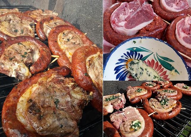 Recette barbecue cotesagneau merguz
